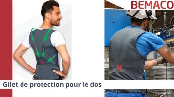 Actu - Gilet de protection dos